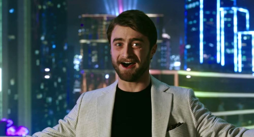 still of daniel radcliffe as Walter Mabry in Now You See Me 2 movie