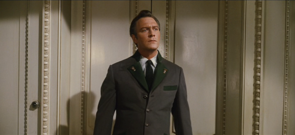 Still of Christopher Plummer as Captain Von Trapp in The Sound of Music movie
