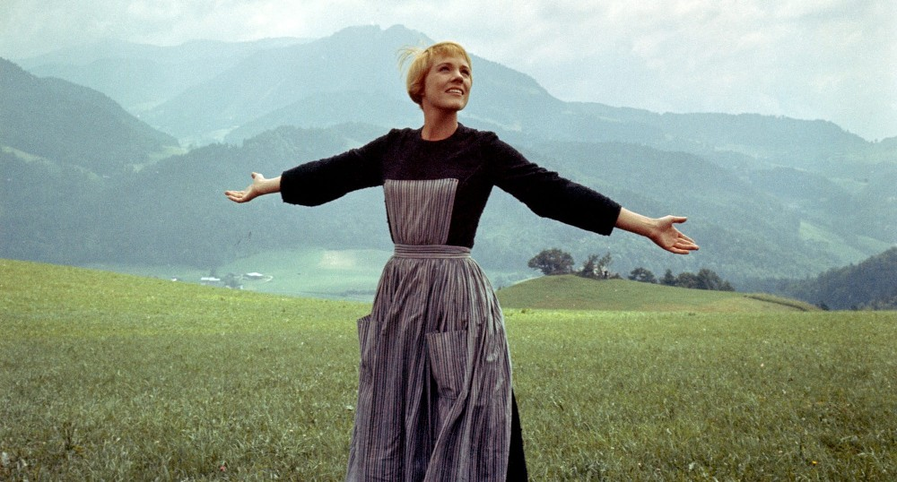 Still of Julie Andrews as Maria from The Sound of Music