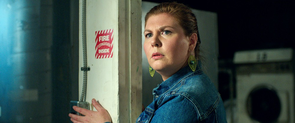 Still of Lotta Losten as Esther in Lights Out Movie