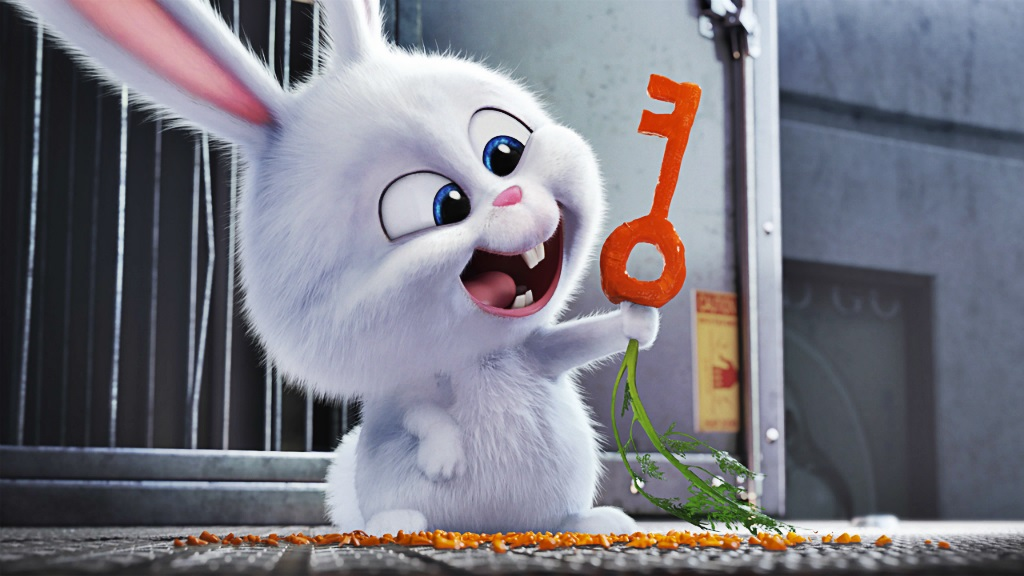 still of snowball from the secret life of pets