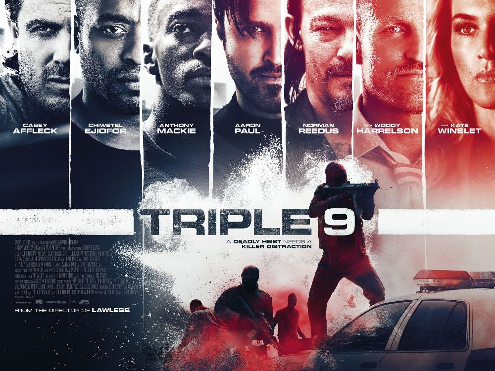 triple 9 movie wallpaper