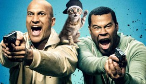 Keanu movie wallpaper of key and peele with kitten