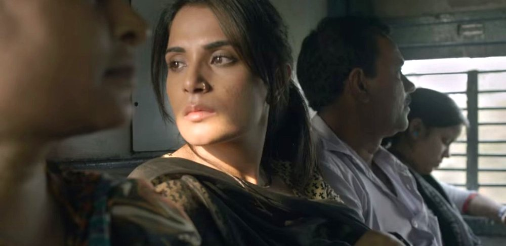 still of Richa Chadha as Devi Pathak in Masaan movie