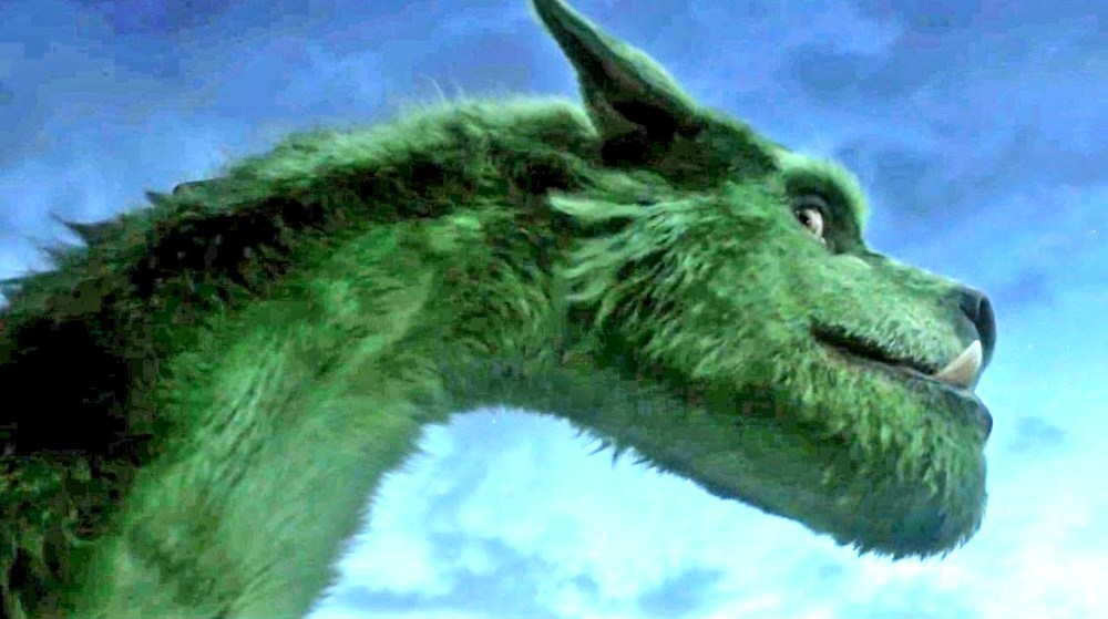 still of Elliott from Petes Dragon movie