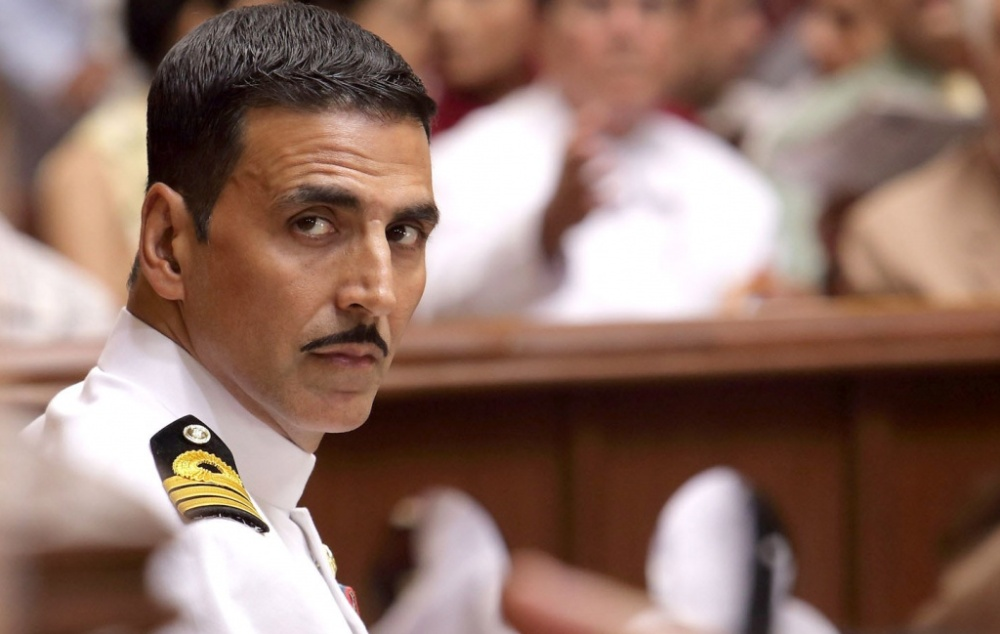 still of Akshay Kumar as Rustom Pavri in Rustom movie