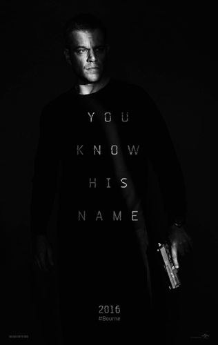 jason bourne movie poster you know his name