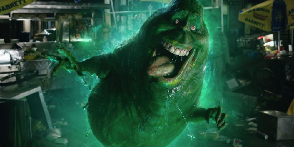 still of slimer in ghostbusters movie 2016