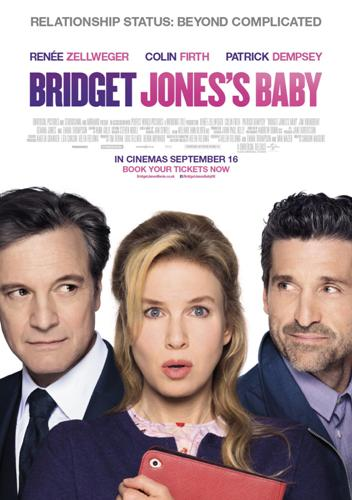 bridget jones's baby movie poster