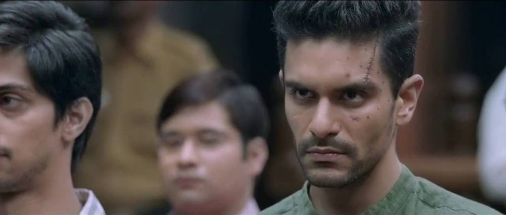 still of Angad Bedi as Rajveer Singh in Pink movie