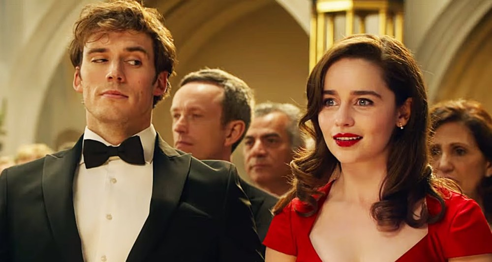 still of Emilia Clarke and Sam Claflin from Me Before You
