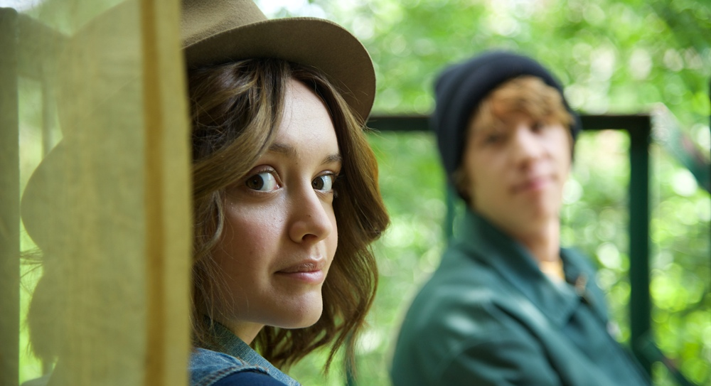 still of Olivia Cooke as Rachel in Me and Earl and the Dying Girl