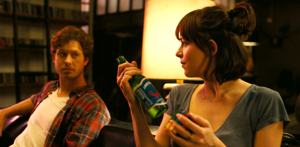 still of dakota johnson and anders holm drink number count