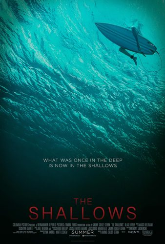 the shallows movie poster