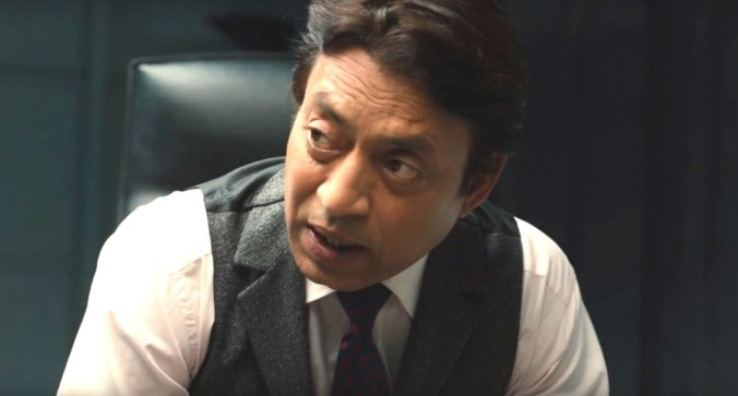 still of irrfan khan as Harry Sims The Provost in inferno movie