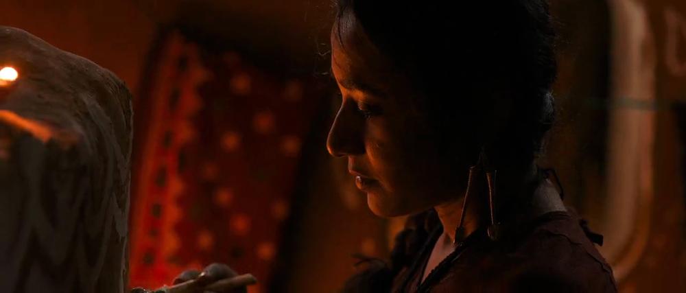 still of Tannishtha Chatterjee as rani in parched movie
