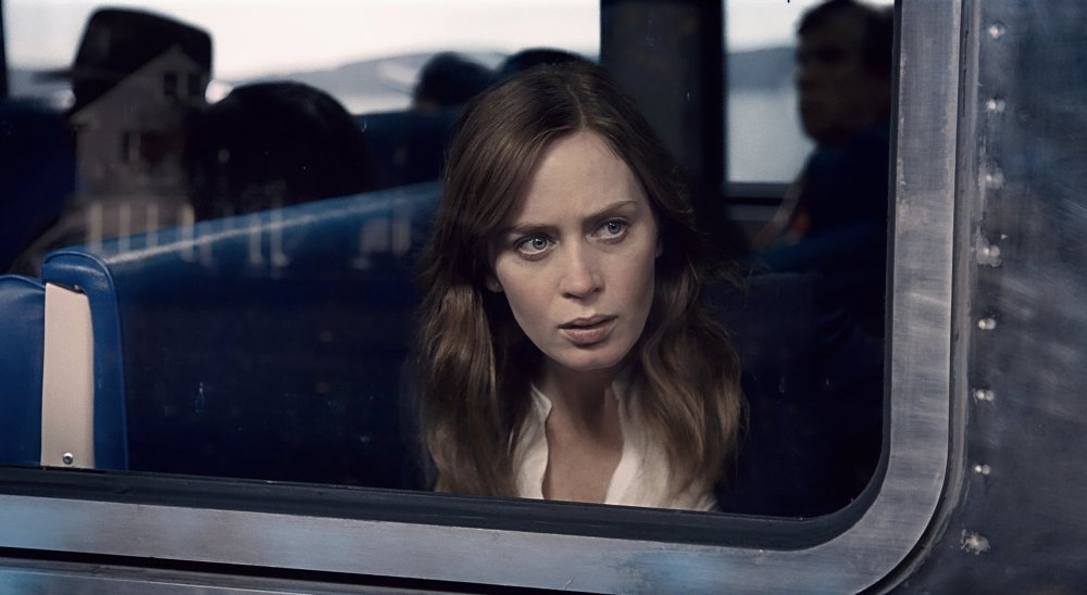 still of emily blunt as Rachel in the girl on the train movie