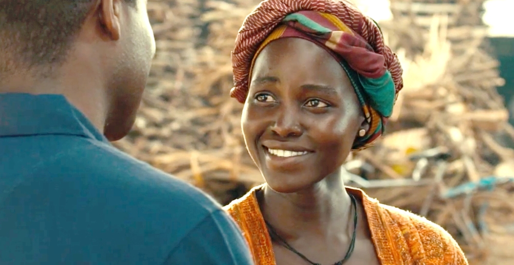 still of lupita nyong'o as nakku harriet in queen of katwe movie