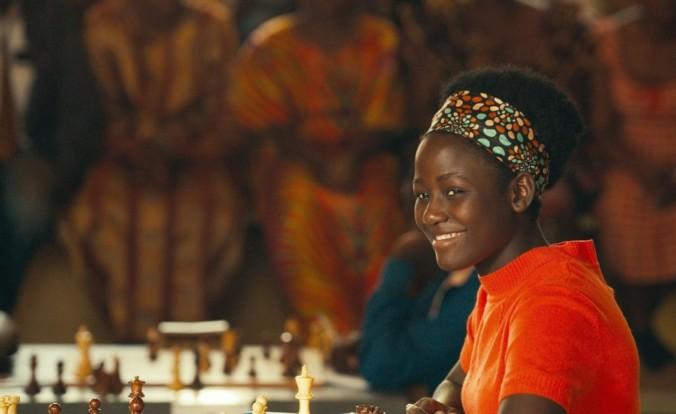still of Madina Nalwanga as Phiona Mutesi in Queen of Katwe movie
