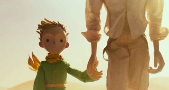 still of the aviator and the little prince