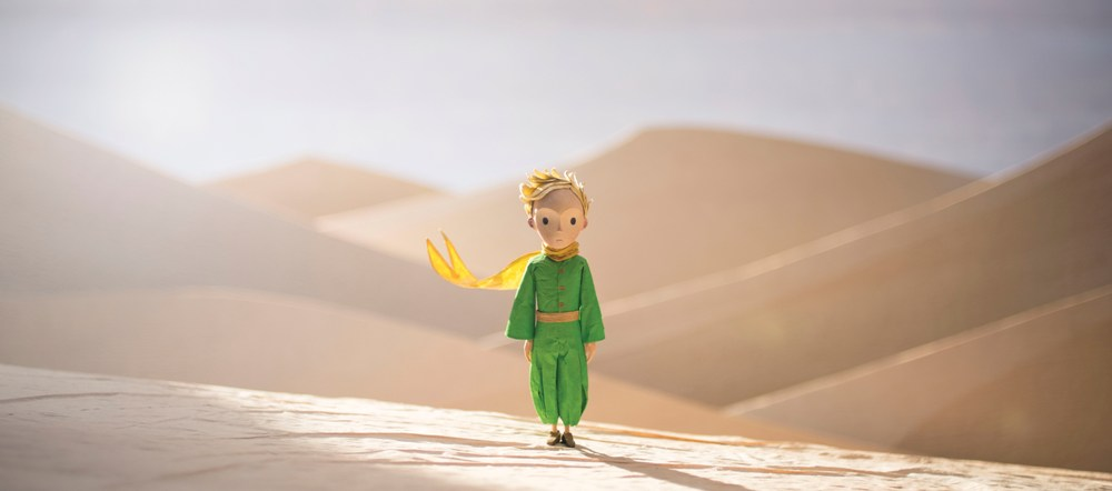 still of the little prince in desert