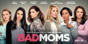 bad moms movie poster wallpaper