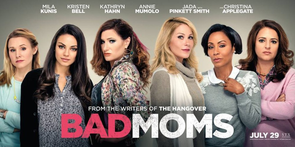 bad moms movie poster wallpaper