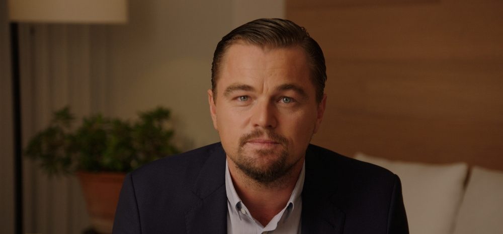 still of Leonardo DiCaprio in Before the Flood movie