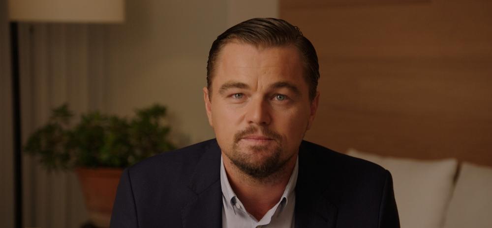 still of Leonardo DiCaprio in Before the Flood movie