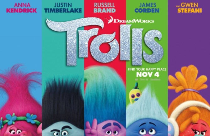 image of trolls movie poster