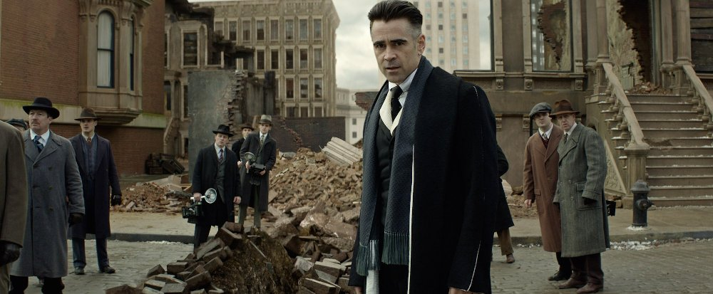 still of graves colin farrell in fantastic beasts movie
