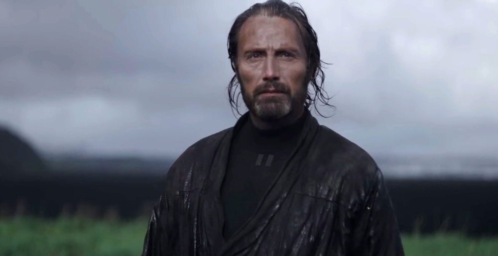 image of Mads Mikkelsen as Galen Erso in Rogue One A Star Wars Story movie