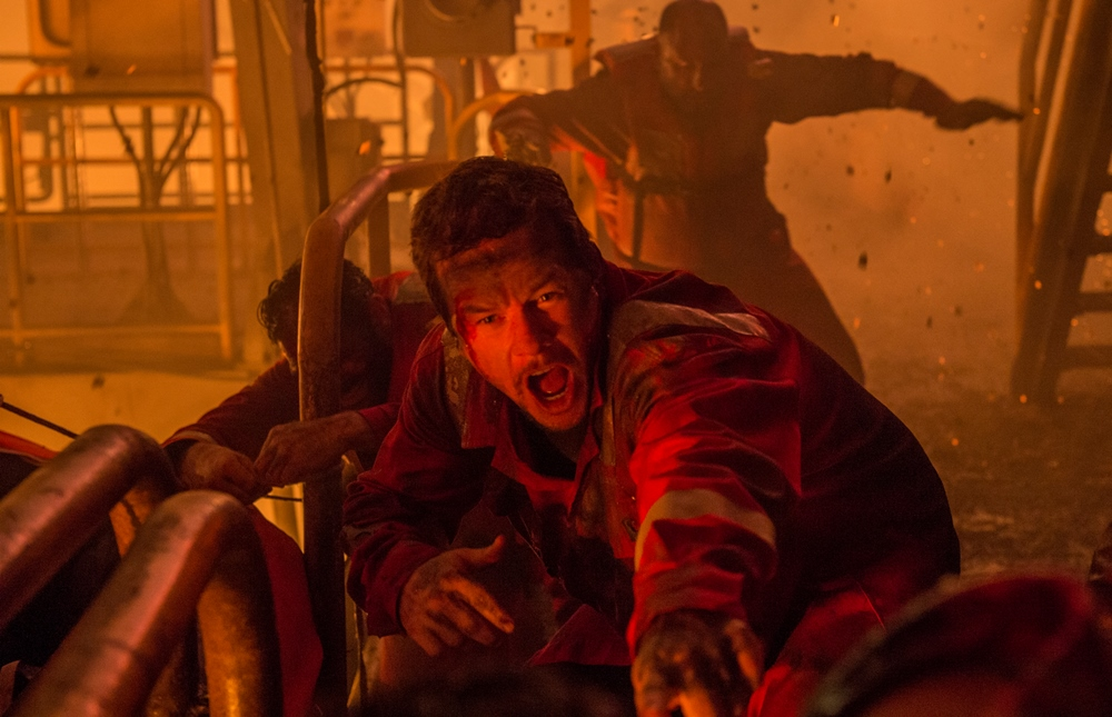 image of Mark Wahlberg as Mike Williams in Deepwater Horizon movie