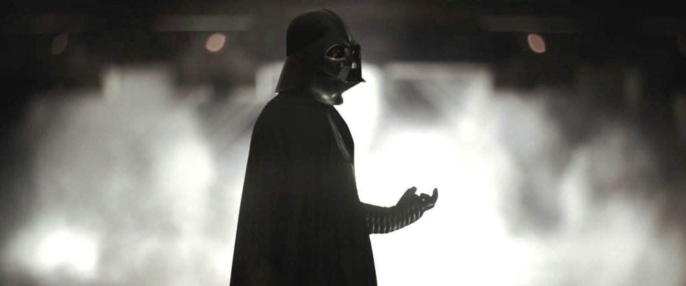 still of darth vader in rogue one movie