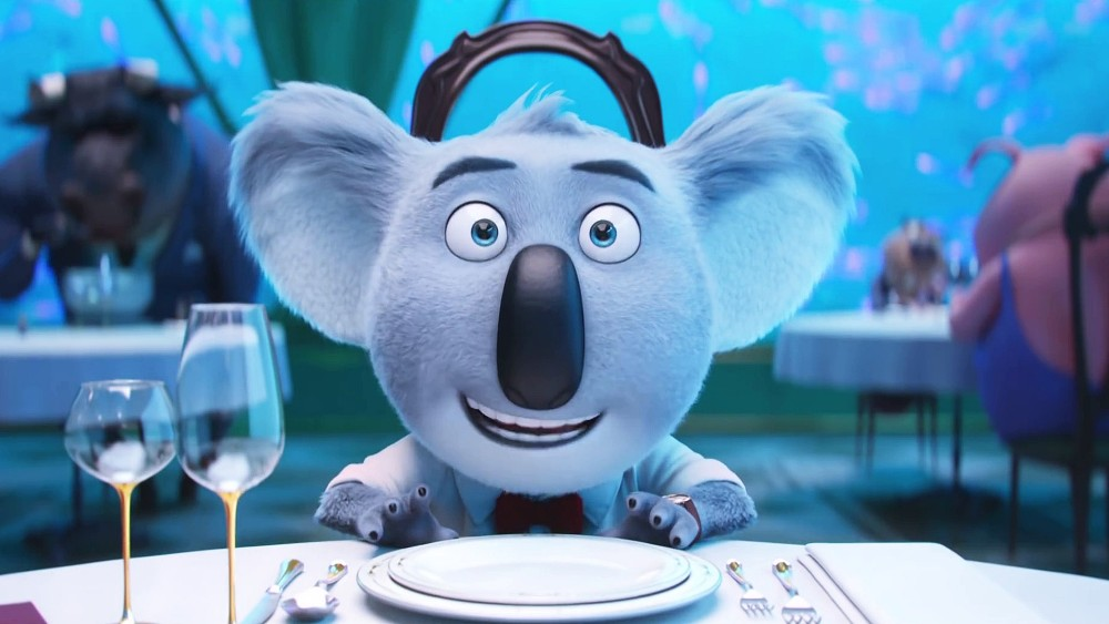 still of buster moon the koala in sing movie