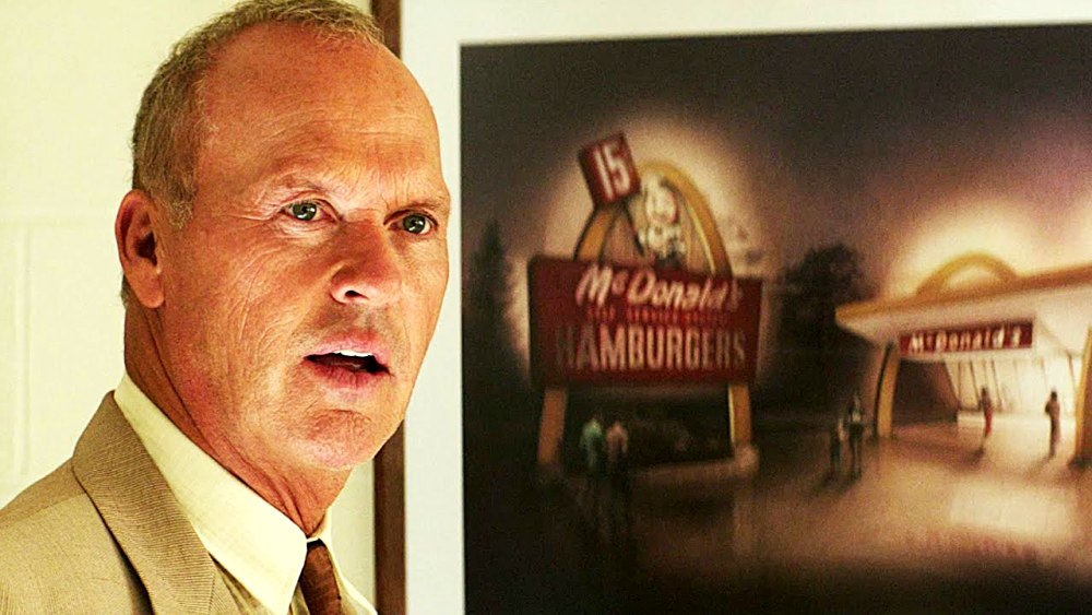 Michael Keaton as Ray Kroc in The founder movie