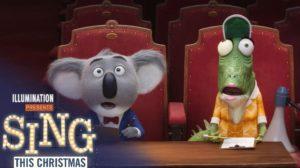 Sing Movie Animation film wallpaper