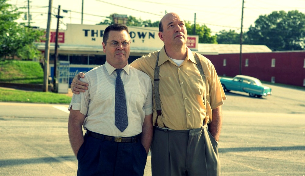 image of Nick Offerman and John Carroll Lynch in The Founder Movie