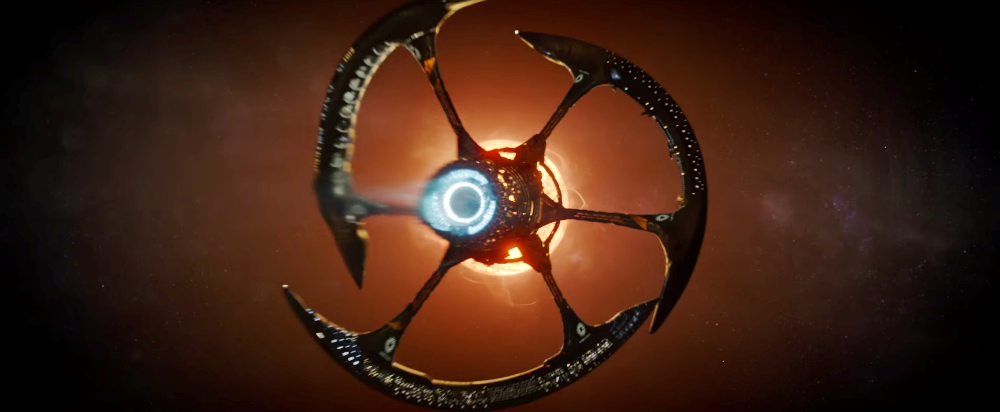 image of passengers movie starship Avalon