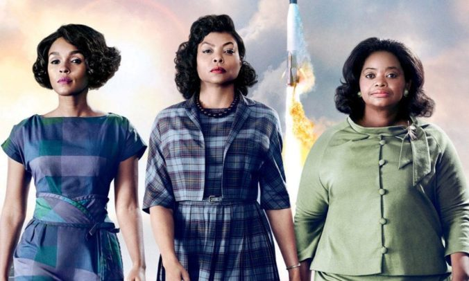 trio from hidden figures movie
