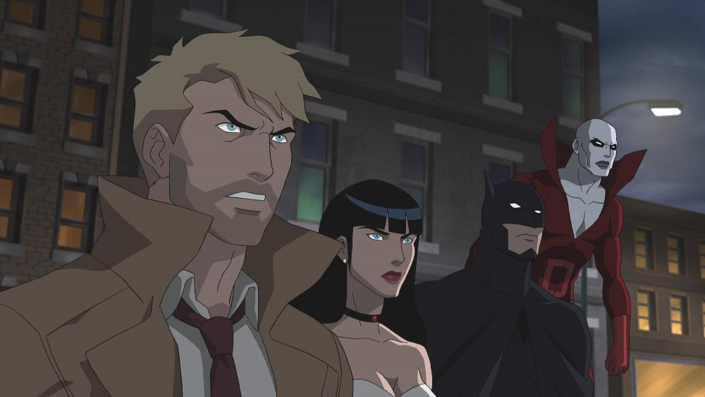 justice league dark animated movie wallpaper