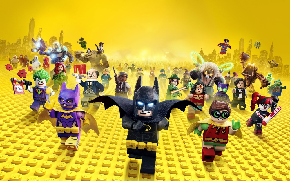 The Lego Batman Movie Wallpaper
