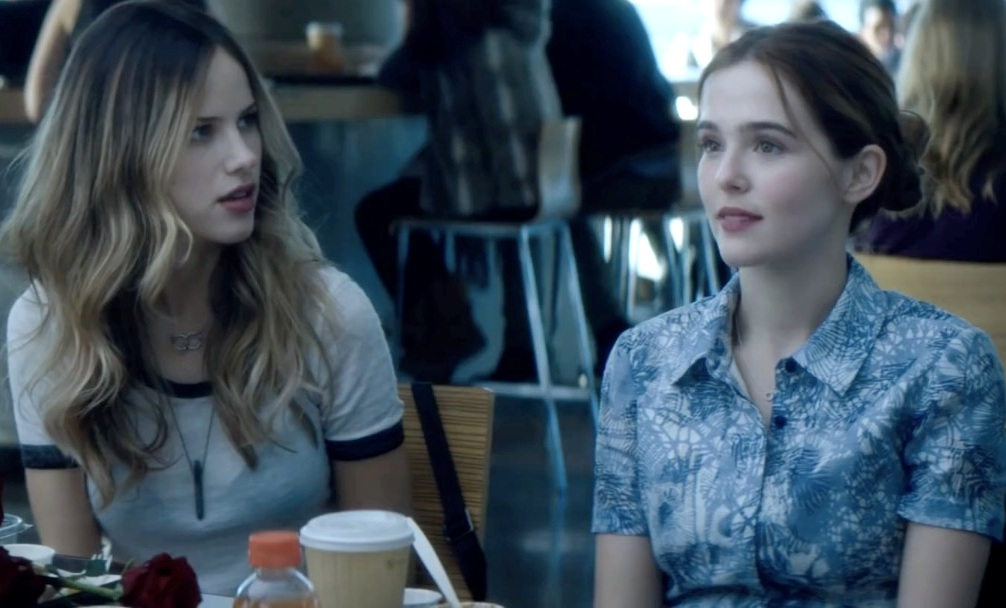 image of Zoey Deutch and Halston Sage in Before I Fall