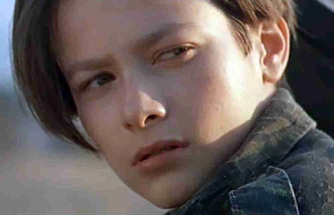 image of a young Edward Furlong from Terminator 2 Judgment Day