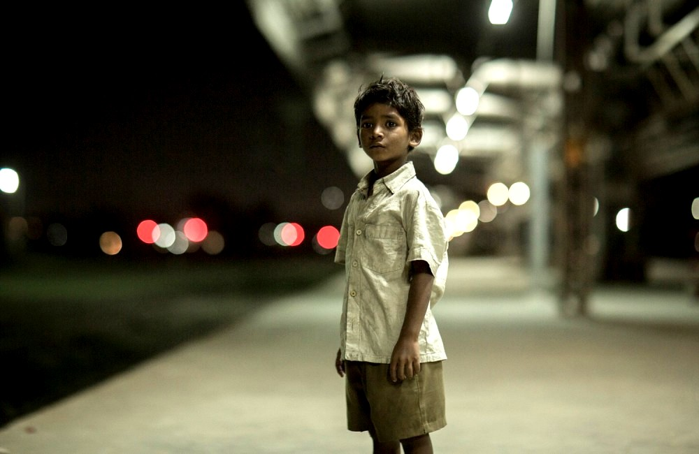 Sunny Pawar as Saroo from Lion Movie