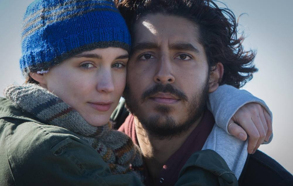 still of Rooney Mara and Dev Patel in Lion Movie
