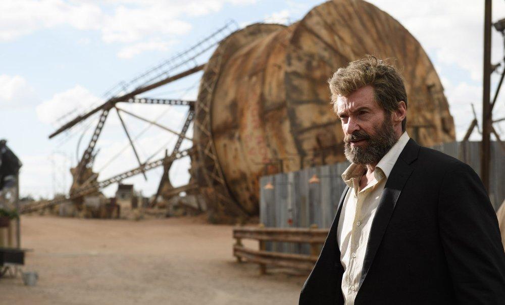 still of Hugh Jackman as Logan in Logan Movie