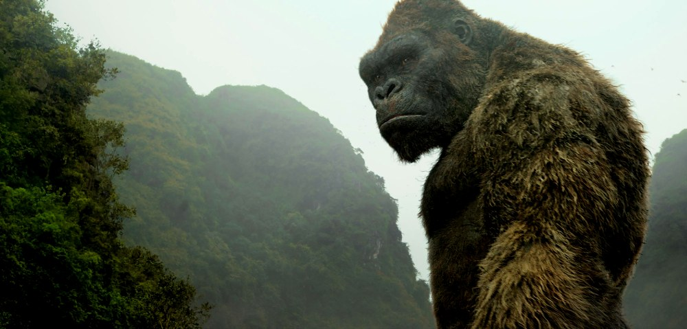 still of kong from kong skull island movie