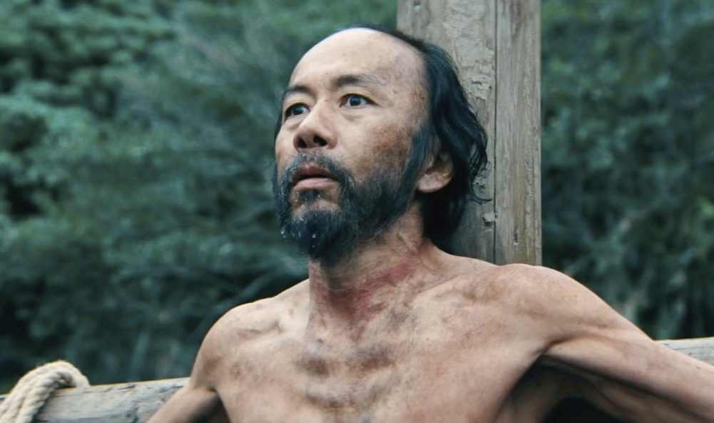 silence movie character image of Shin'ya Tsukamoto as Mokichi
