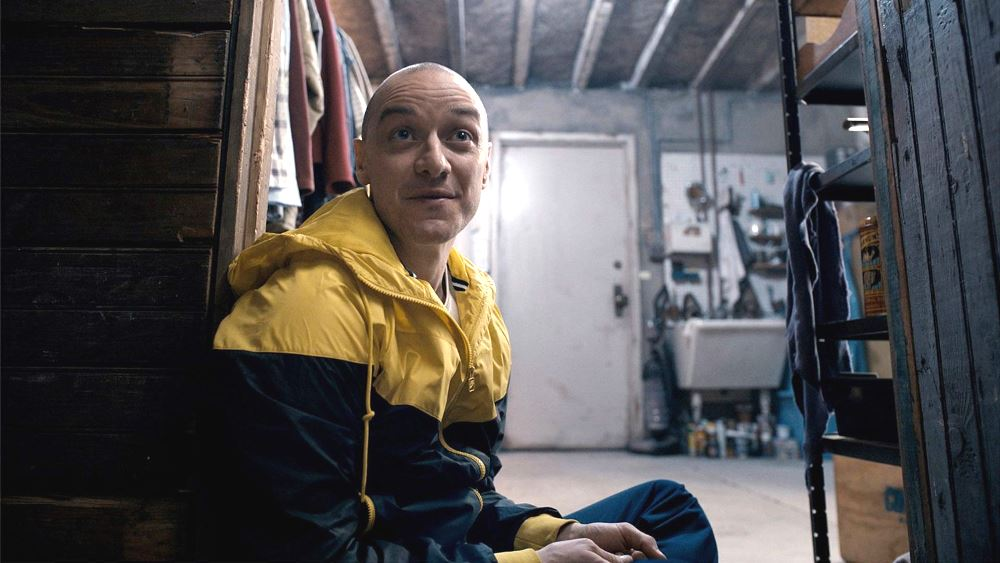hedwig personality of Kevin in Split movie
